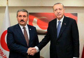 Erdoğan'dan Destici'ye ziyaret sonrası ortak miting açıklaması