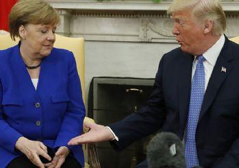 Merkel: Trump uluslararası düzene zarar veriyor