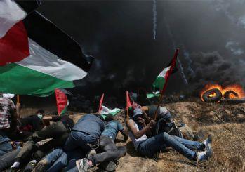 Gazze'de hayatını kaybeden Filistinli sayısı 62'ye yükseldi