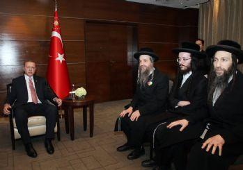 Erdoğan Neturei Karta Ortodoks Musevi Cemaati üyelerini kabul etti
