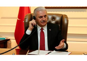 Başbakan Yıldırım'dan Kudüs için telefon trafiği