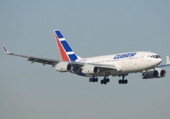 Küba'da uçak düştü