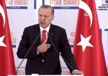 Cumhurbaşkanı Erdoğan: Kudüs-ü Şerif'teki haklarımızdan taviz vermemekte kararlıyız