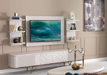 Tv üniteleri ile evinizi renklendirin