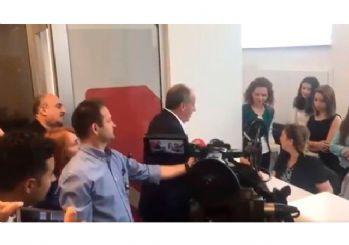 Muharrem İnce, cumhurbaşkanı adaylarına 500'er lira bağış yaptı