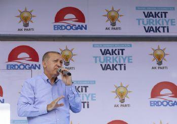 Erdoğan: Kurla bizi vuramazsınız, ekonomi bizim işimiz