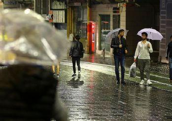 Meteoroloji uyardı! Salı günü yağmur geliyor