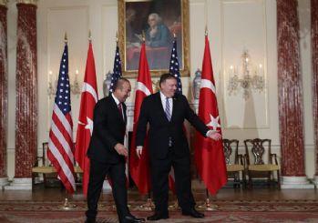 Çavuşoğlu: Pompeo ile Menbiç'in yol haritası ve Suriye'yi görüştük