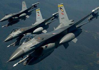 Irak'ın kuzeyine hava harekatı: 16 hedef imha edildi