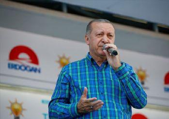 Cumhurbaşkanı Erdoğan'dan İnce'ye: Ben Başkomutanım, sen çırak bile değilsin