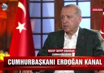Erdoğan: Kanal İstanbul'u zevk için yapmıyoruz