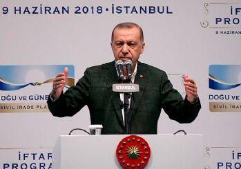 Cumhurbaşkanı Erdoğan: Teröristler yıktı, biz inşa ettik
