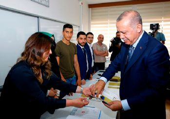 Oy kullandığı sandıktan en çok oyu Erdoğan aldı!