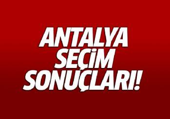 24 Haziran 2018 Antalya seçim sonuçları
