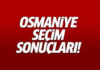 Osmaniye seçim sonuçları milletvekili genel seçim sonuçları 24 haziran 2018