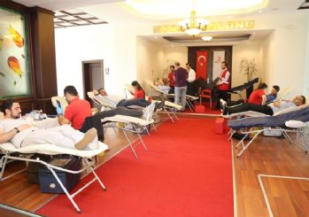 Kağıthane Belediyesi'nden kan bağışına destek