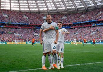 Rusya, İspanya'yı eleyerek çeyrek finale yükseldi