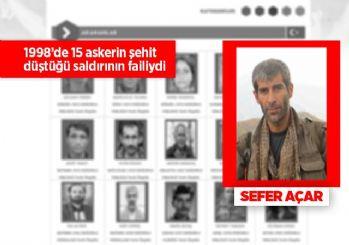 Kırmızı listedeki terörist Sefer Açar öldürüldü