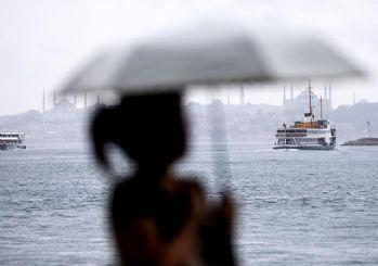 Meteoroloji uyardı! İstanbul için yağış uyarısı