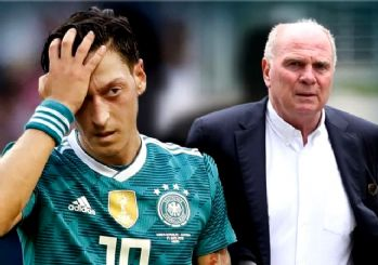 Bayern Münih Başkanı Mesut Özil'e nefret kustu!