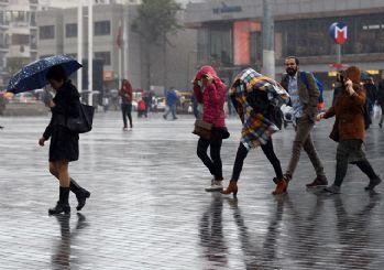 Meteoroloji uyardı! Sağanak yağış kapıda