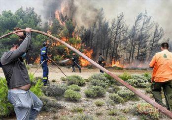 Yunanistan'daki yangın faciası: Ölü sayısı 88'e yükseldi