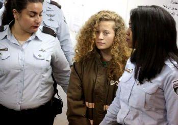 Ahed Tamimi serbest bırakıldı