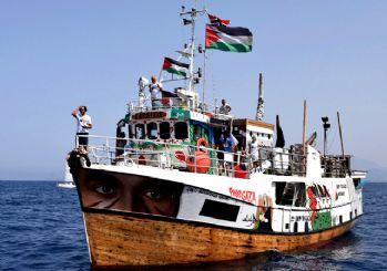 Katil İsrail ordusu 'Özgürlük Filosu'nu durdurdu