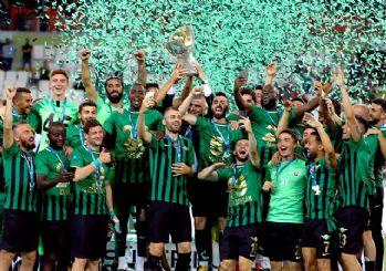 Süper Kupa Akhisarspor'un!
