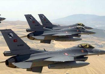 Türk savaş uçakları Şengal'i bombaladı