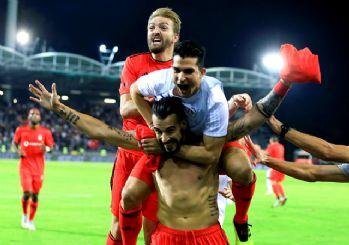 Beşiktaş son nefeste kazandı! 2-1