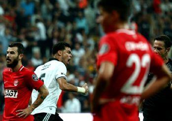 Beşiktaş sahasında ilk kez yenildi! 3-2
