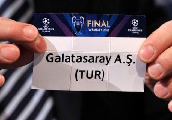 Galatasaray'ın rakipleri belli oluyor