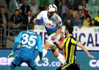 Fenerbahçe Rize'de dağıldı! 3-0