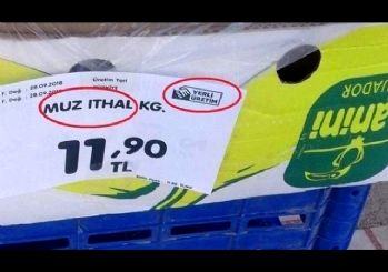Fırsatçılar pes dedirtti! İthal ürüne yerli etiketi
