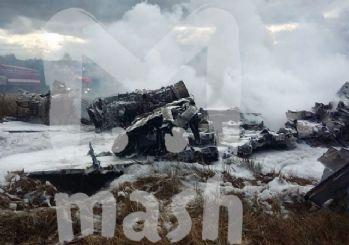 Sıcak gelişme! Moskova'da savaş uçağı düştü