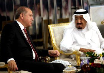 Erdoğan Kral Selman ile görüştü