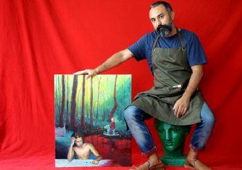 Cankat Kalyoncu'dan yeni sergi