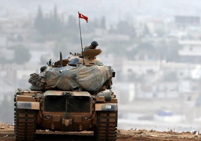 Fırat'ın doğusunda PKK mevzileri vuruluyor…