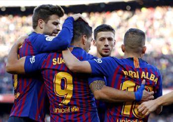 Barcelona Real Madrid'e 5 attı