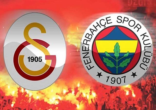 Dev derbi: Galatasaray Fenerbahçe ilk 11'ler belli oldu!