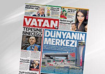Vatan Gazetesi kapandı