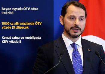Bakan Albayrak vergide indirim paketini açıkladı