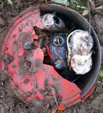 Terörün bombasını asker son anda fark etti