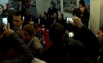 Erdoğan vatandaşlarla bir arada