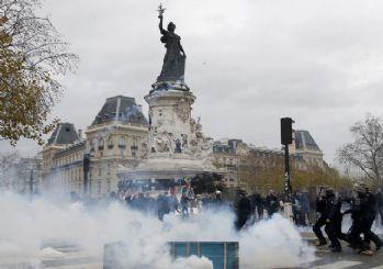 Fransa'da sert polis müdahalesi!