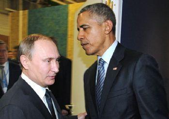 Obama ile Putin bir araya geldi