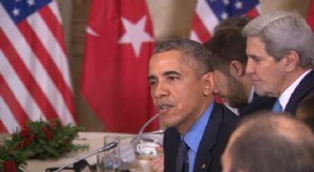 Obama: Türkiye'nin sınırlarını savunma hakkına...