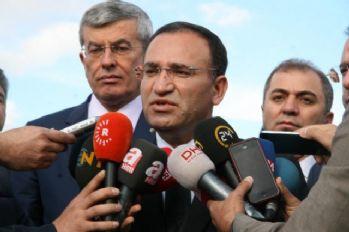 Adalet Bakanı: Üzeri örtülen hiçbir şey yok