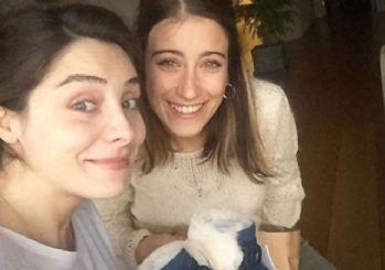 Hazal Kaya'dan Nur Fettahoğlu'na ziyaret